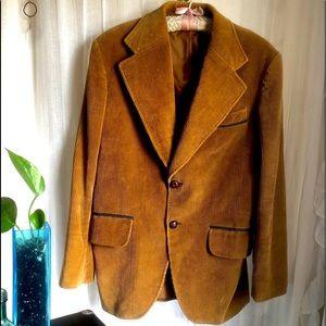 SOLD! Vintage Corduroy Tan Jacket
